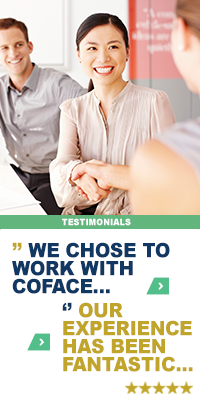 """Our Clients say it best: We chose to work with Coface..."""