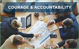 Courage & accountability