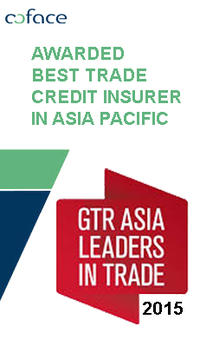Coface is awarded best Trade Credit Insurer in Asia Pacific