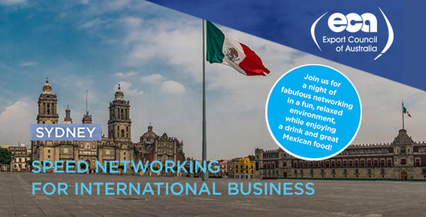 Speed Networking for International Business - Mexico. Sydney
